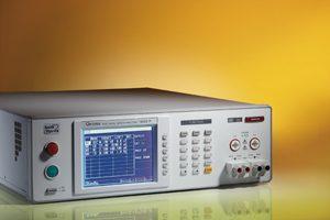 Analizador de seguridad eléctrica