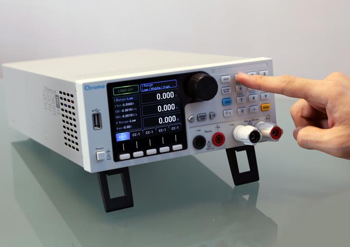 Cargas electrónicas CC programables Chroma