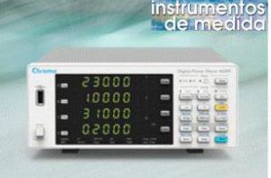 Medidores de potencia de 3 y 4 canales