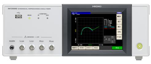 Analizador de impedancia electroquímica Hioki