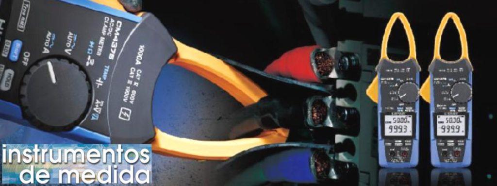 Medidor de pinza de 1000A AC / DC