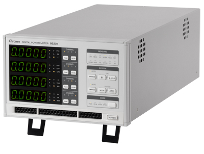 Medidor potencia eléctrica Chroma
