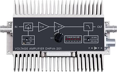 Amplificador de voltaje de ganancia variable Femto