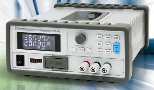 Fuentes de alimentación de CC programables con rango automático