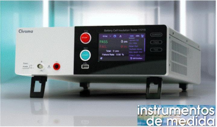Comprobador de Seguridad Eléctrica para baterías modelo 11210