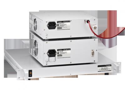 Fuentes AC/DC de alto voltaje con control analógico.